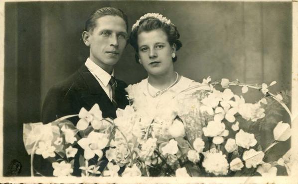 ma grand mère et mon grand père