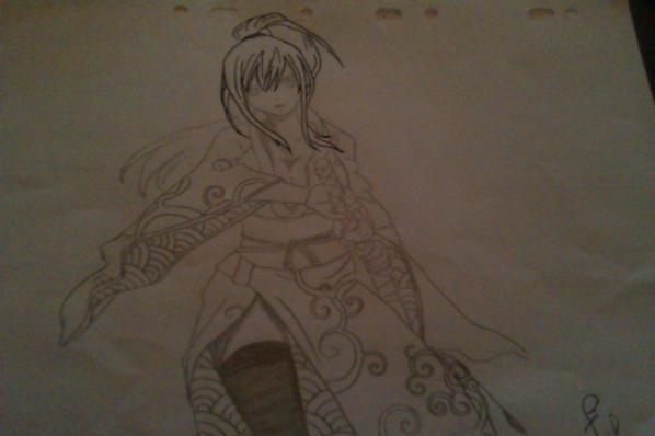 mes dessin =3 (pas encor fini hein :) )