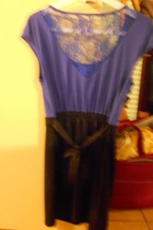 Robe Bleu/Noir