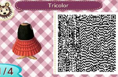 La robe Tricolore / The dress Tricolor