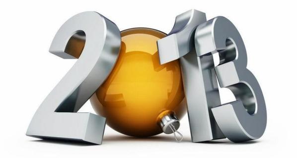 Bonne Année a tous pleins de bisous pour 2013