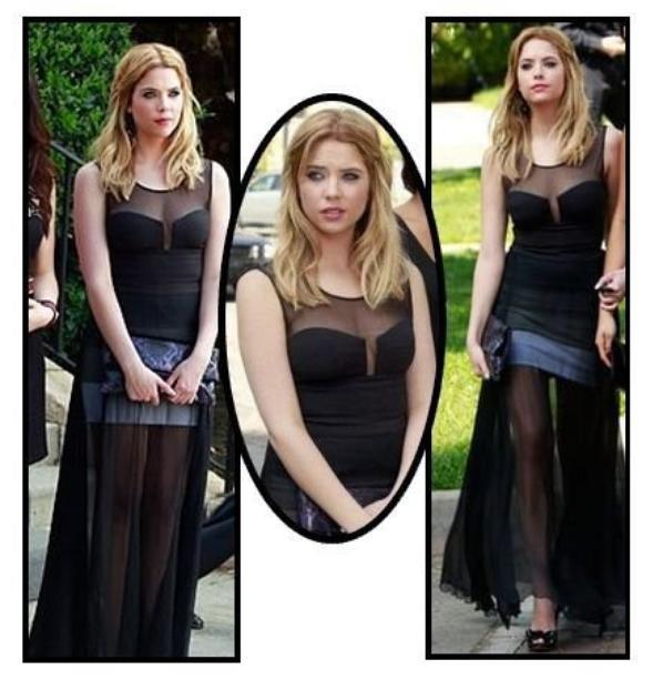 La robe BCBG Max Azria, vue dans « Pretty Little Liars »