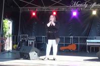 Mandy sur scène pour la fête de la musique 2014