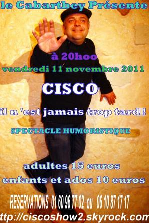 Cisco au Cabartbey