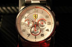 Vainqueur du concours de simulation Ferrari
