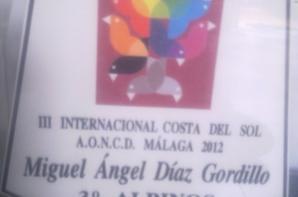 INTERNACIONAL DE MALAGA TERCERO INDIVIDUAL ALBINO