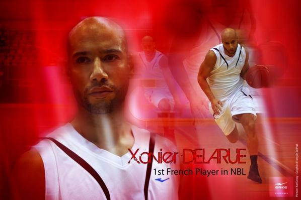 "Xavier DELARUE in Campagne ""ERKE"" 2012"