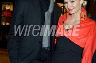 Tatiana-Laurens et Xavier DELARUE in Lady R by Rowena Forrest: Show & Dinner - Paris Fashion Week Haute-Couture Spring/Summer 2013