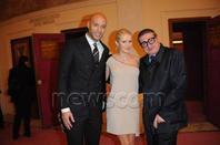 Xavier Delarue et Tatiana Laurens à la 19e édition du gala de l'Amnesty International