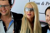 Xavier & Tatiana-Laurens DELARUE Light Optique Event (09.01.2014)