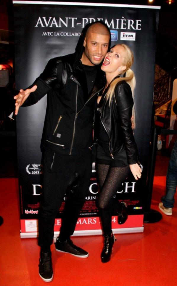 "Tatiana-Laurens & Xavier Delarue in Avant-Première du Film ""DARK TOUCH"" (18/03/2014)"