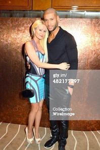 Xavier Delarue & Tatiana-Laurens in Penati Al Baretto Opening At Hotel De Vigny