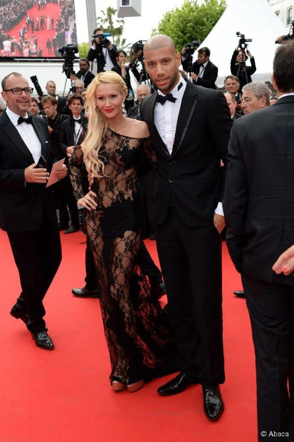 Tatiana-Laurens & Xavier DELARUE in @PureBreak  @PurePeople (#Cannes2014)