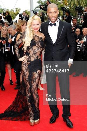 Tatiana-Laurens & Xavier DELARUE in Getty Images (#Cannes2014)