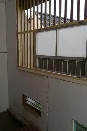 Construction du colombier des jeunes qui acceuillera le deuxieme tours