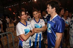 Ian Somerhalder Nina Dobrev le 2013 Celebrity Beach Bowl