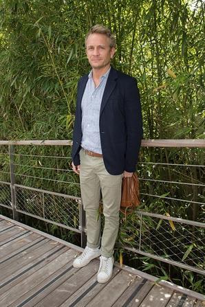 Jeremie Renier à Roland Garros le 30 mai 2015.