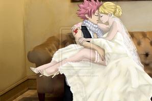 Mariage Natsu et Lucy