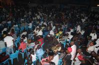 La communion entre le public, Jossart Nyoka Longo et Zaiko est indescriptible!
