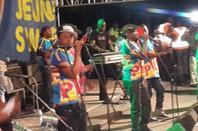 Jossart Nyoka Longo et Zaiko Langa Langa fêtent les vices champions d'Afrique (V.Club) au Parking du GHK A