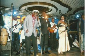 """Soirée """"la belle époque"""" à l'hotel Béatrice de Kinshasa le 13.02.2015."""