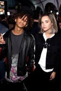 Jaden and her girlfriend
