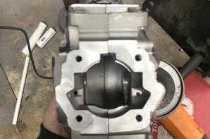 Custom Mbk motor.