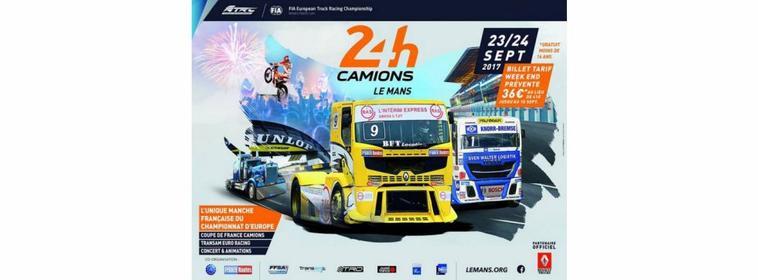 Les 24h camion 2017 le 23/09/2017 au 24/09/2017