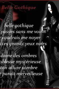 Des poèmes gothique
