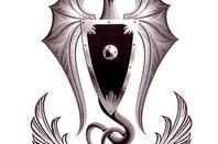 """Voici et j'aime bien ses d""""autre tatoo du femme gothique vampire !!"""
