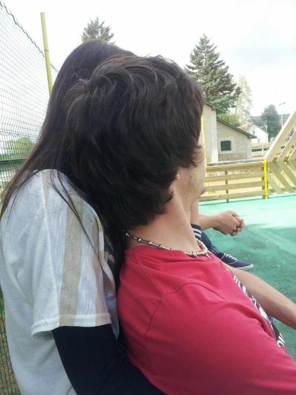 Ma meilleure et son copain :) ♥