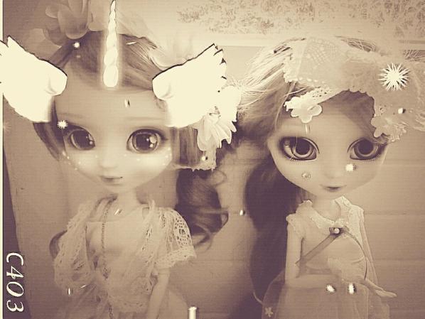 ♥ Suki et Anako la licorne♥