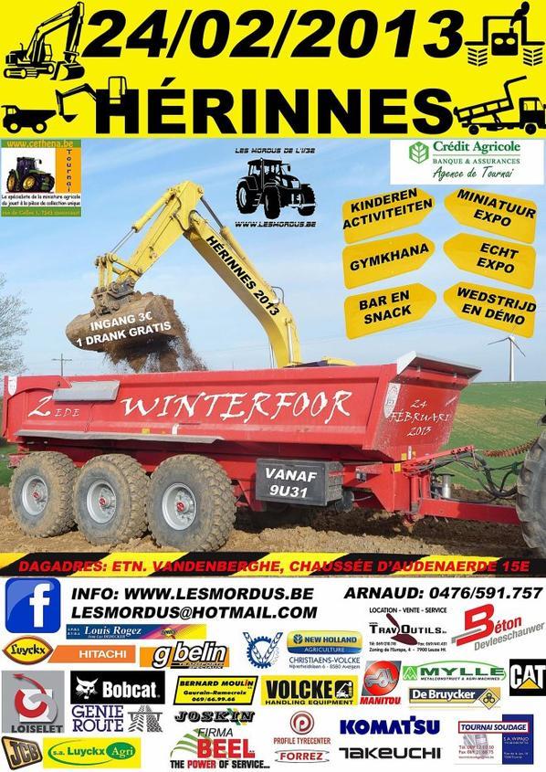 Seconde édition de la Foire d'Hiver le 24/02/2013 à Herinnes