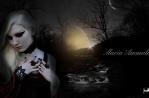 Montages avec PhotoFiltre thème gothique Maria Amanda Schaub
