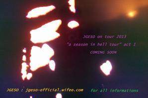 Après des années de studio, JGESO revient sur scène ...