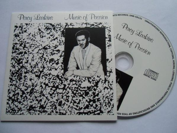 Percy Larkins 1985 Music Of Passion