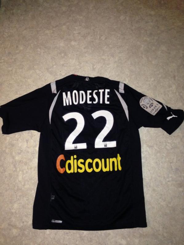 maillot de Modeste . Bordeaux