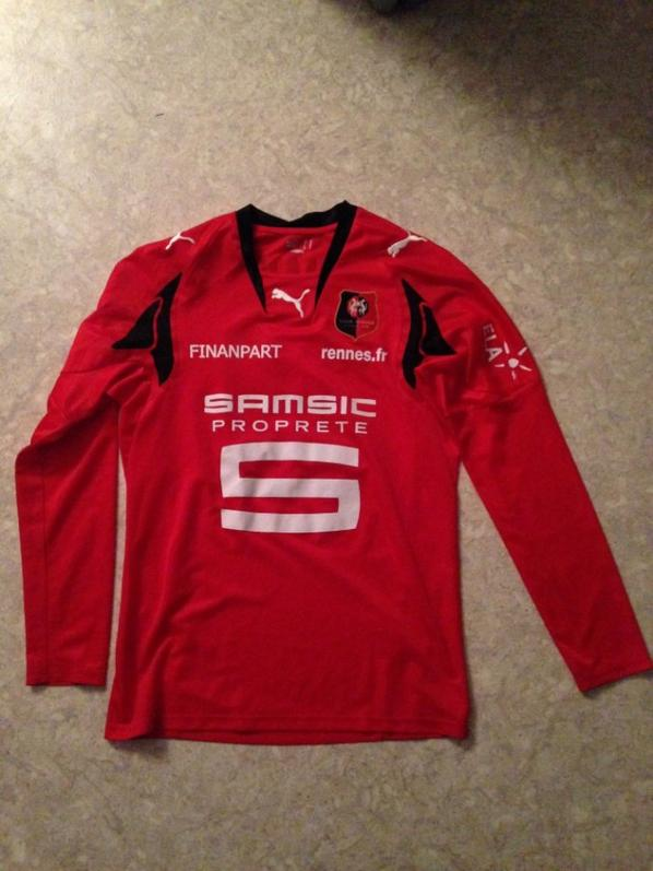 maillot de rennes . Jimmy Briand