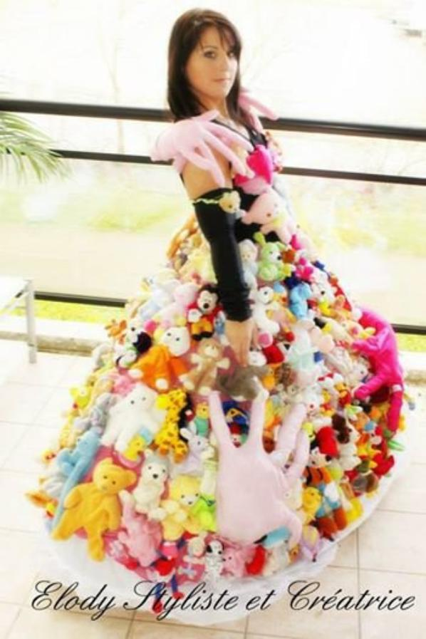 Ma création robe nounours