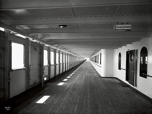 Pont A - Promenade de Première classe