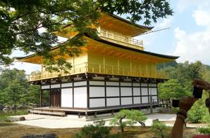 TEMPLE D'OR KYOTO ( KINKAKU-JI )