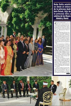 Magazine et revue  : Mariage de la princesse Ayah (1/2)