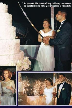 Magazine et revue  : Mariage de la princesse Ayah (2/2)