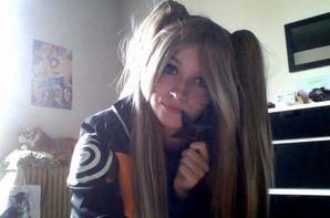 Bonjour voici des photo de moi en cosplay de naruto (fille)
