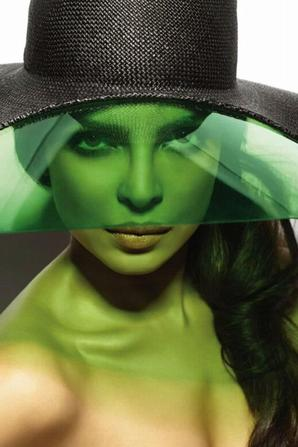 Priyanka Chopra pose pour Vogue India