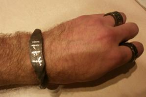 bracelet forgé