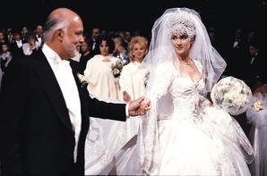 .  11/12/1994 :  Céline et René se marient à la basilique Notre-Dame de Montréal.