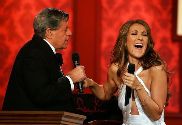 .  03/09/2006 : Céline était au 41ème anniversaire du Telethon à Las Vegas.