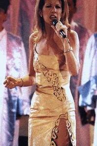 Le 17 avril 1997, Céline était aux World music Awards ""