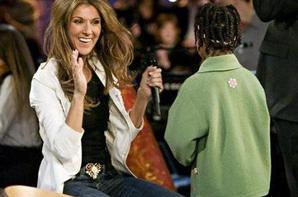 """.  07/12/2005 : Céline participait à """" L'école des fans """" au Québec."""